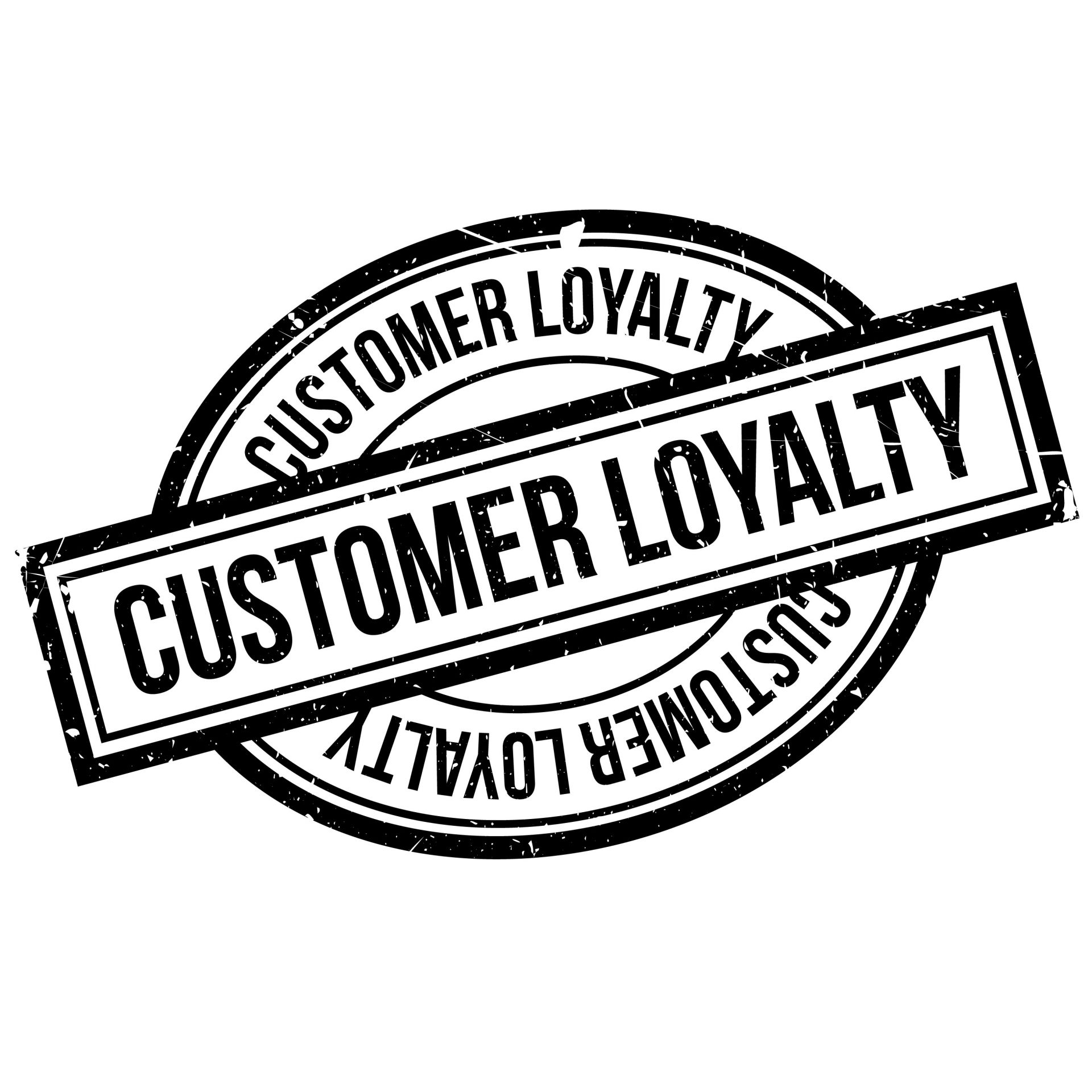 customer loyalty logo.
