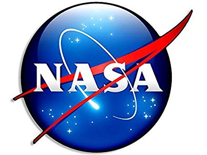 Amazon.com: 3D Look NASA Logo Shaped Sticker (space meatball.