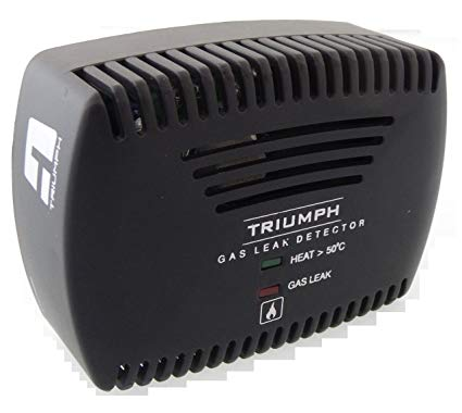 Triumph Kitchen Lpg/Png/Cng Gas Leak Detector & Heat Detector System For  Home Safety (2 In 1: Heat + Gas).