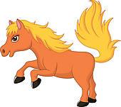 Pony Clip Art and Illustration. 4,490 pony clipart vector EPS.