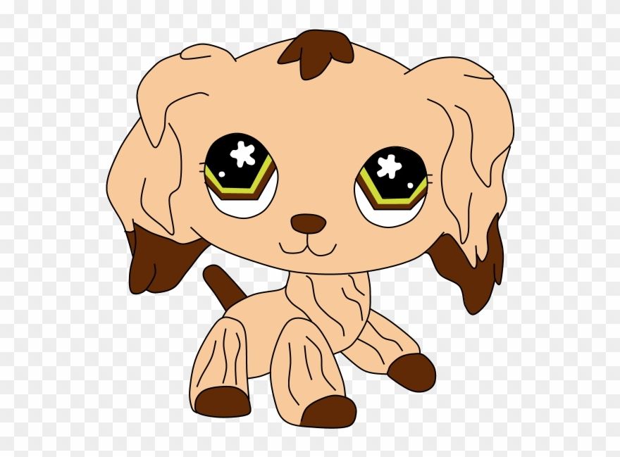 Lps Cocker Spaniel Drawing Clipart (#1499807).