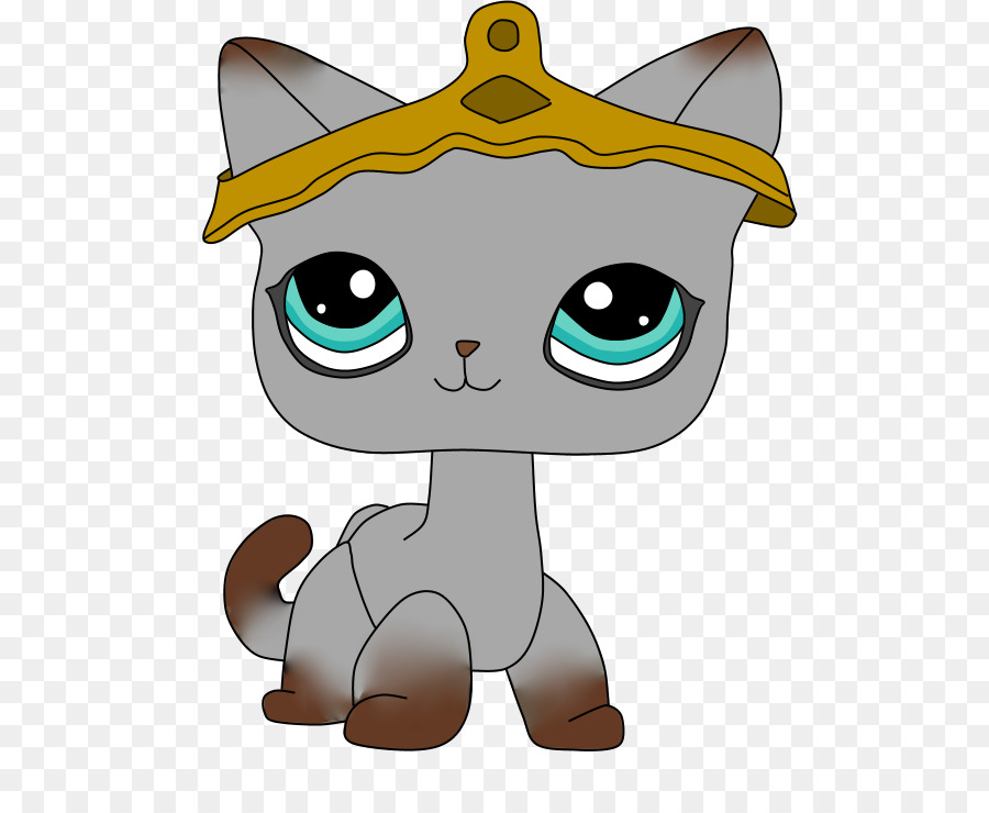 Kitten Cartoon clipart.