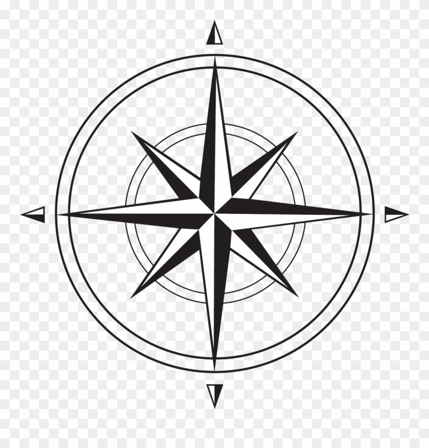 Compass Rose Lrg.