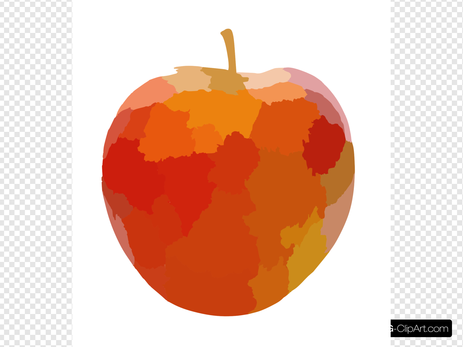 Pomme Lrg Clip art, Icon and SVG.
