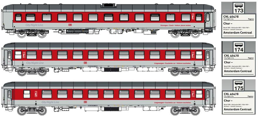 LS+Models 79054 Bpm875 / Bvcmz248 / Bvcmbz249 modellbahnshop.