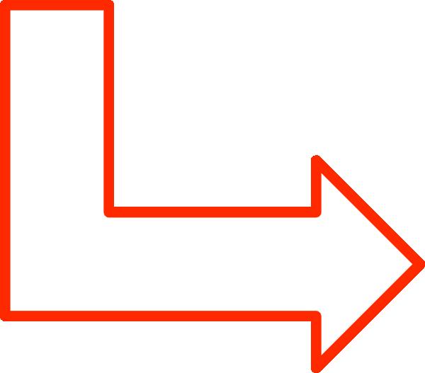 L Shaped Arrow Set clip art Free Vector / 4Vector.