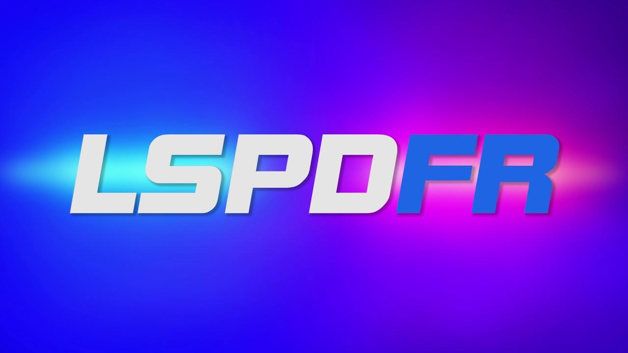 LSPDFR Flashing Lights Logo Splash.