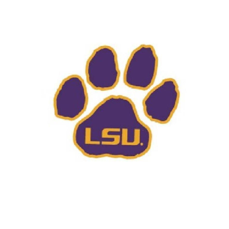 LSU Football Clip Art free image.