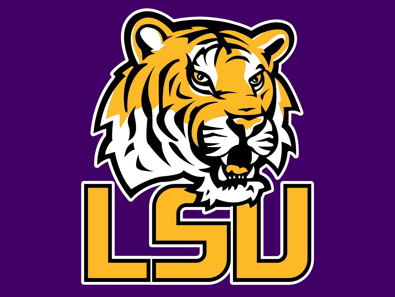 LSU Tigers Logo.