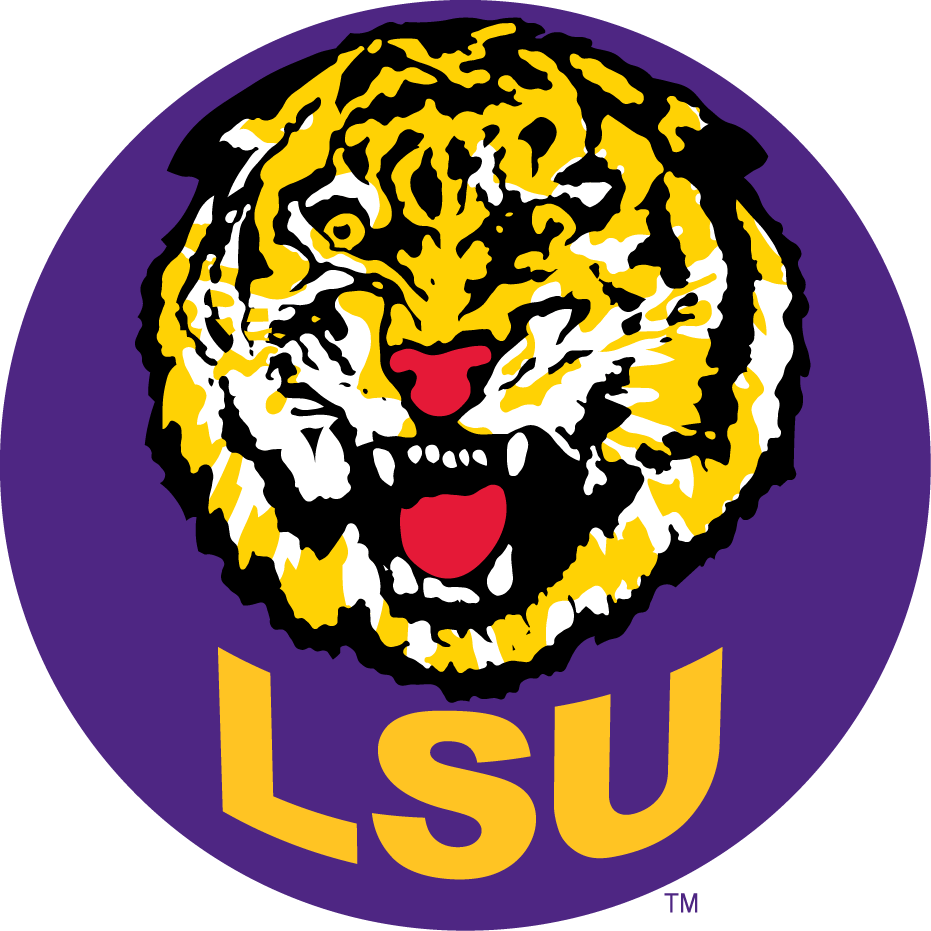 LSU Football Logo.