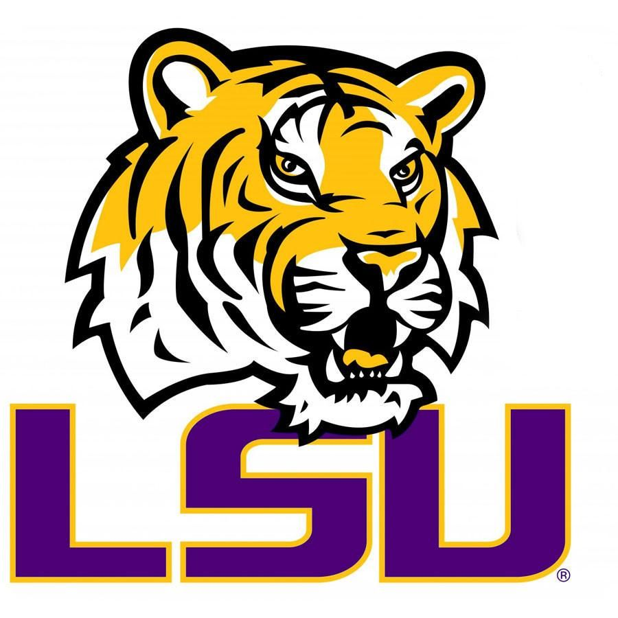 NCAA Louisiana State Tigers College Logo Wallmarx Accent.