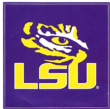 Amazon.com: 4 inch LSU Tiger Eye Decal Louisiana State.