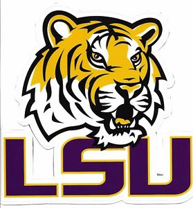 Details about LSU Tigers Official FATHEAD Logo.