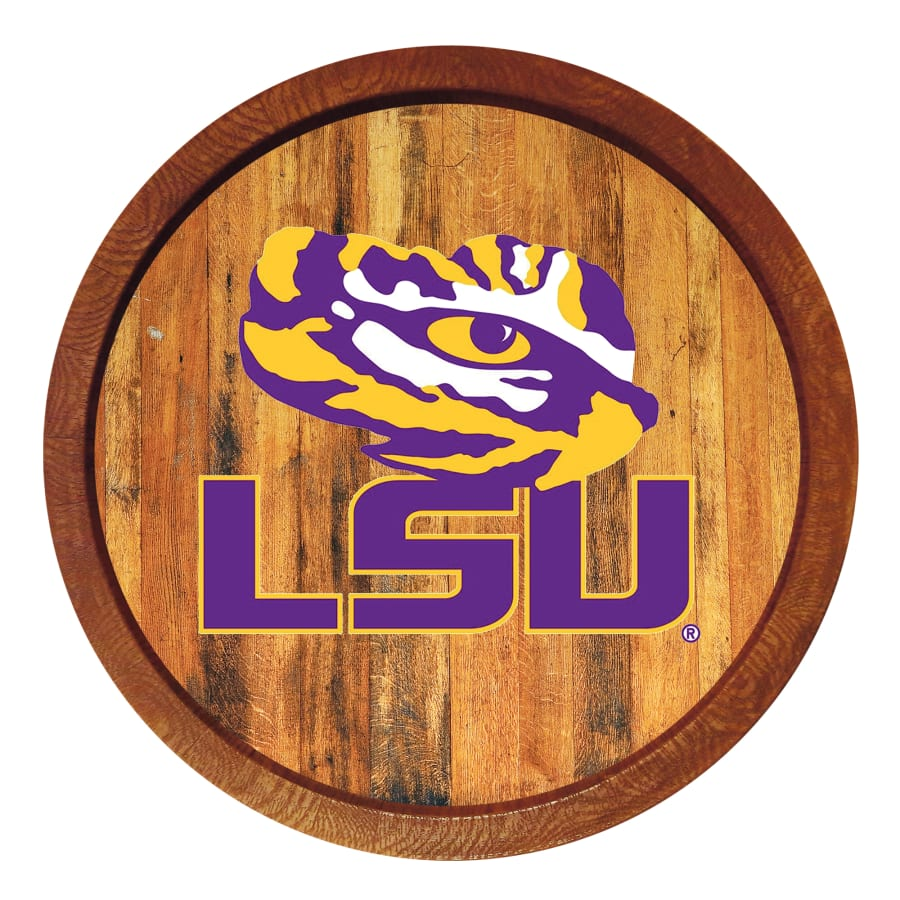 "LSU Tigers: ""Eye of the Tiger"" Logo."