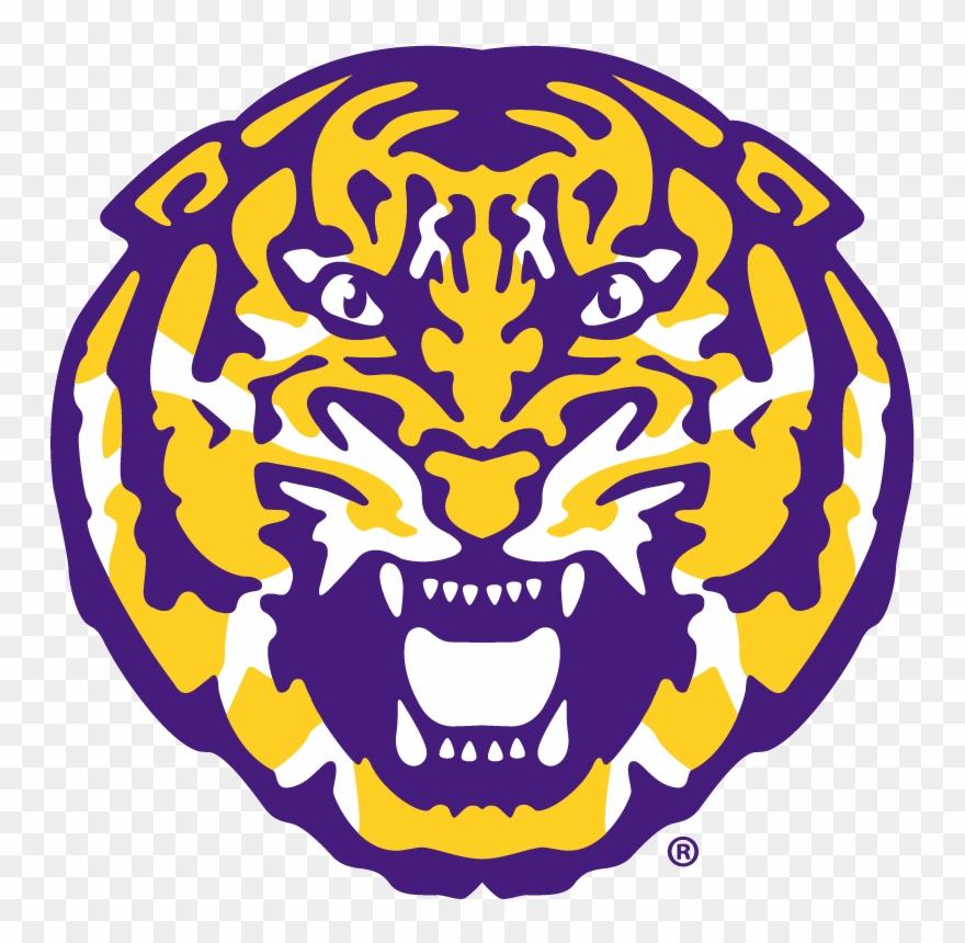 Louisiana Clipart Lsu Tiger.