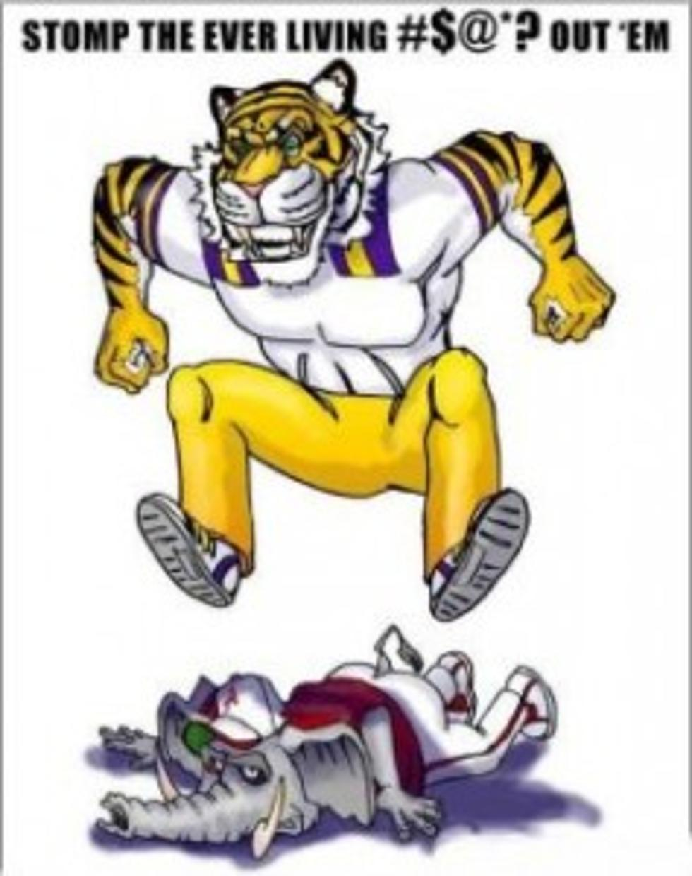 Lsu vs alabama clipart 8 » Clipart Portal.