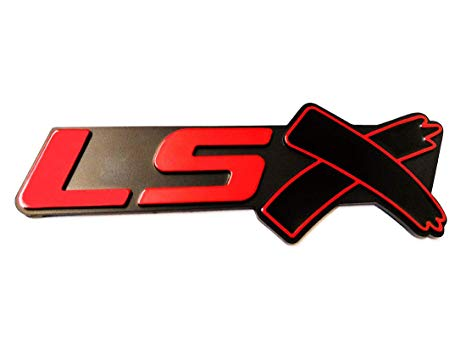 LSX Emblem Badge 3D Self.