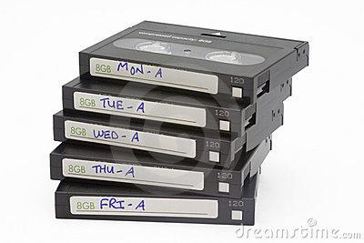 Backup tape clipart.