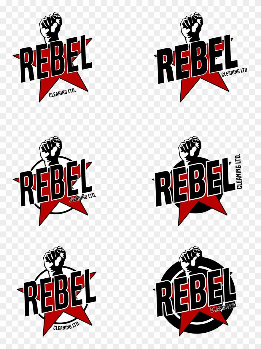 Rebel Cleaning Logo.