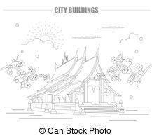 Luang prabang Clipart Vector Graphics. 28 Luang prabang EPS clip.