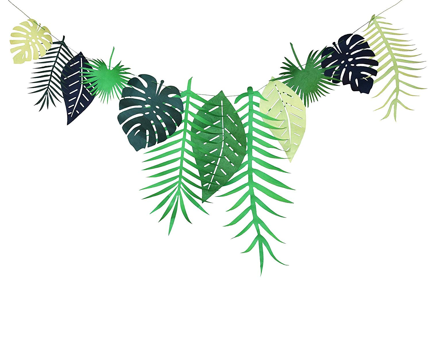 Luau clipart leaves, Luau leaves Transparent FREE for.