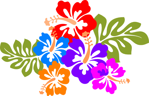 Hawaii Luau Clipart.