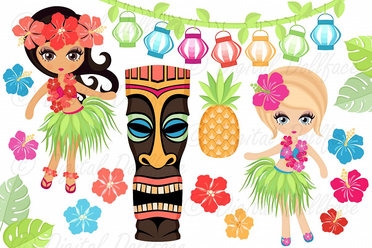 Luau clipart retro, Luau retro Transparent FREE for download.