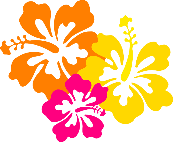 Hibiscus Flower Clipart Free.