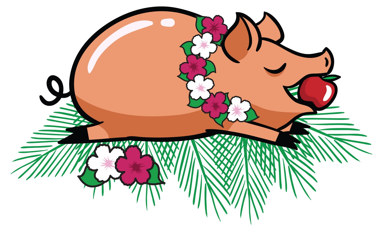 Showing post & media for Cartoon pig being roasted.