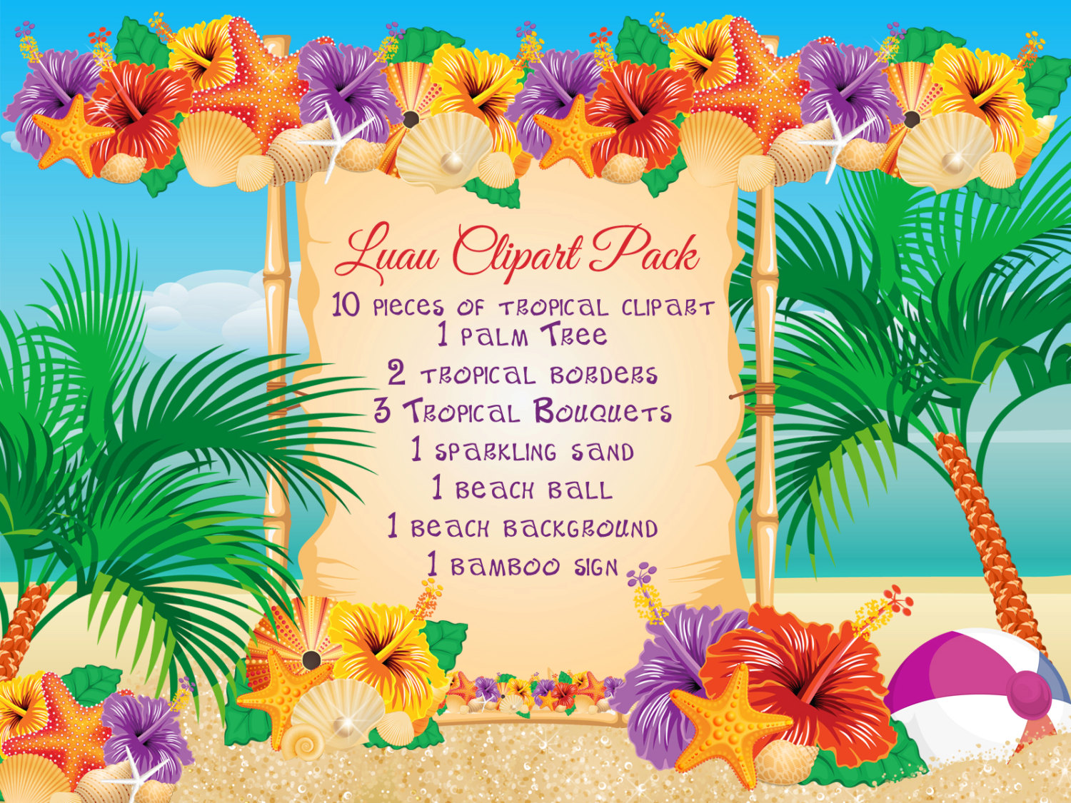 Luau Food Clipart Free.