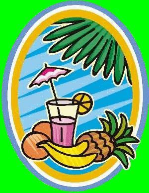 Hawaiian Luau Food Clip Art (61+).