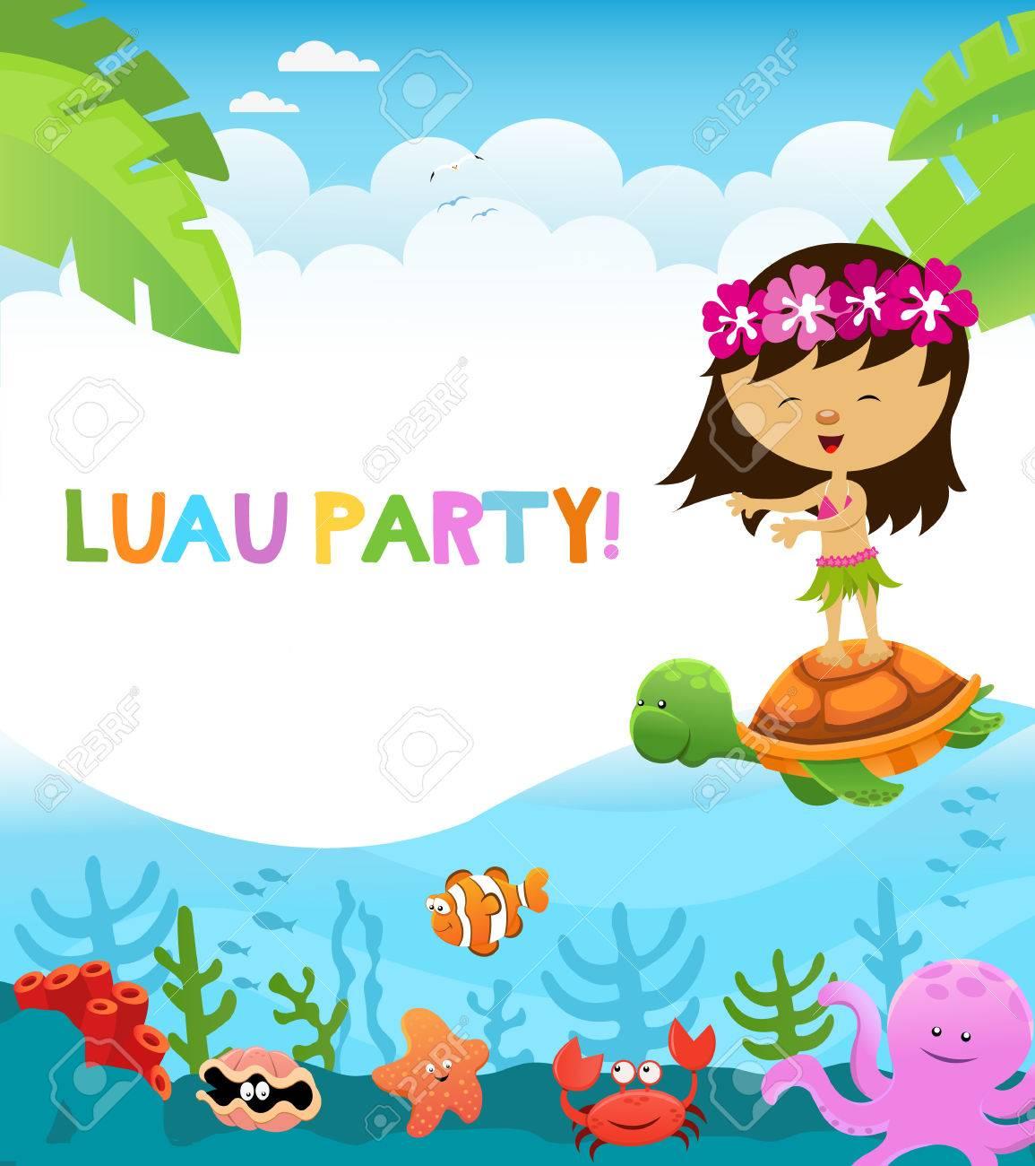 Luau Party.