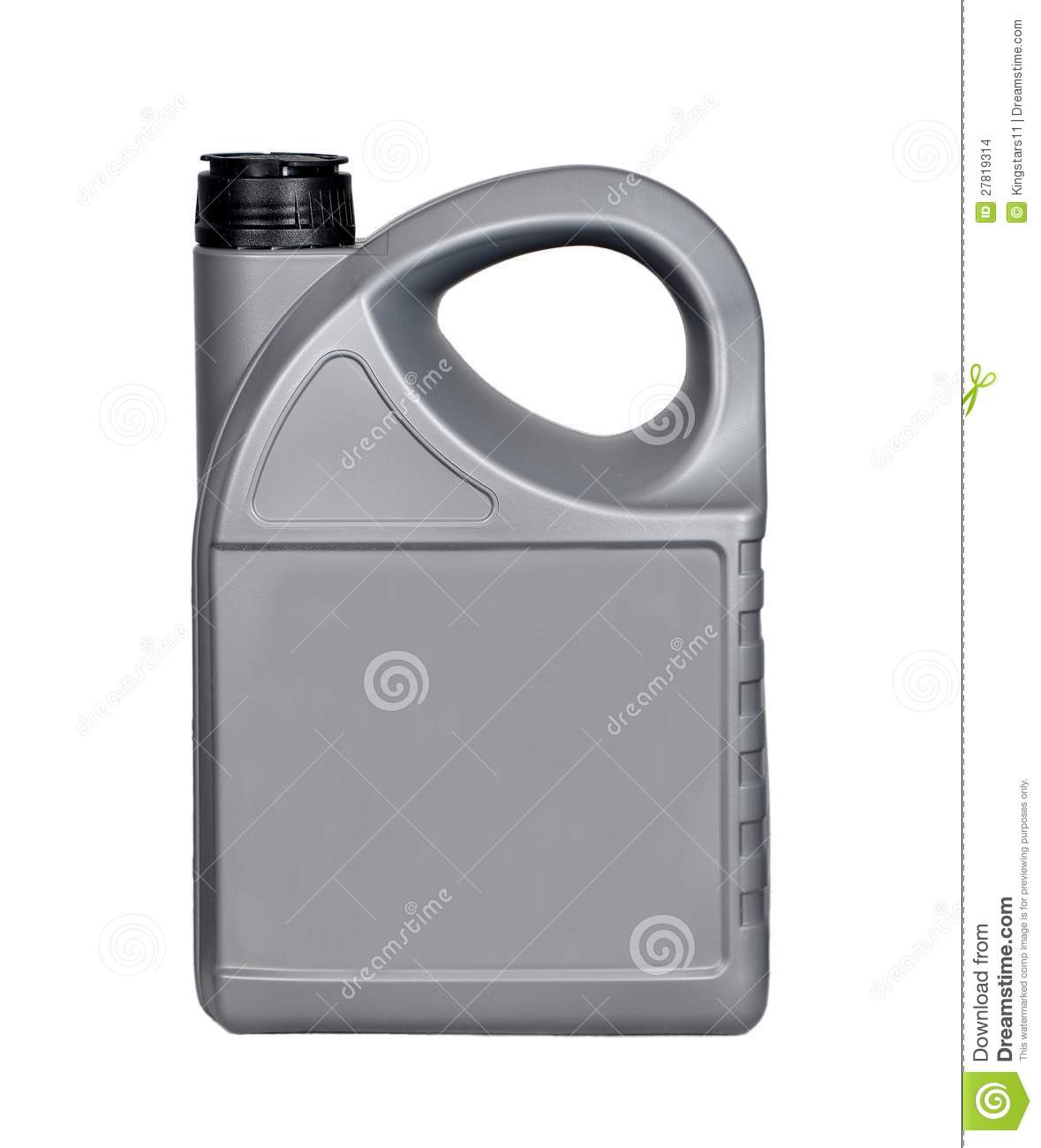 4 Liter Lubricants Bottle Stock Images.