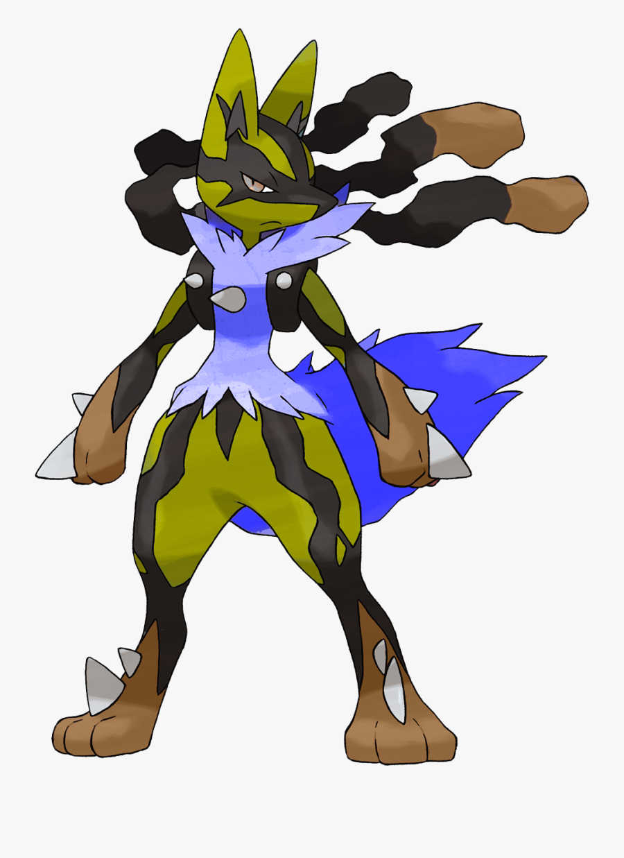 Pokemon Shiny Mega Lucario , Free Transparent Clipart.