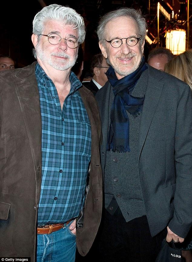 Steven Spielberg George Lucas Clip Art.