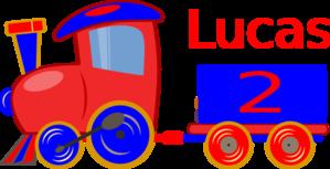 Loco Train Lucas Clip Art at Clker.com.