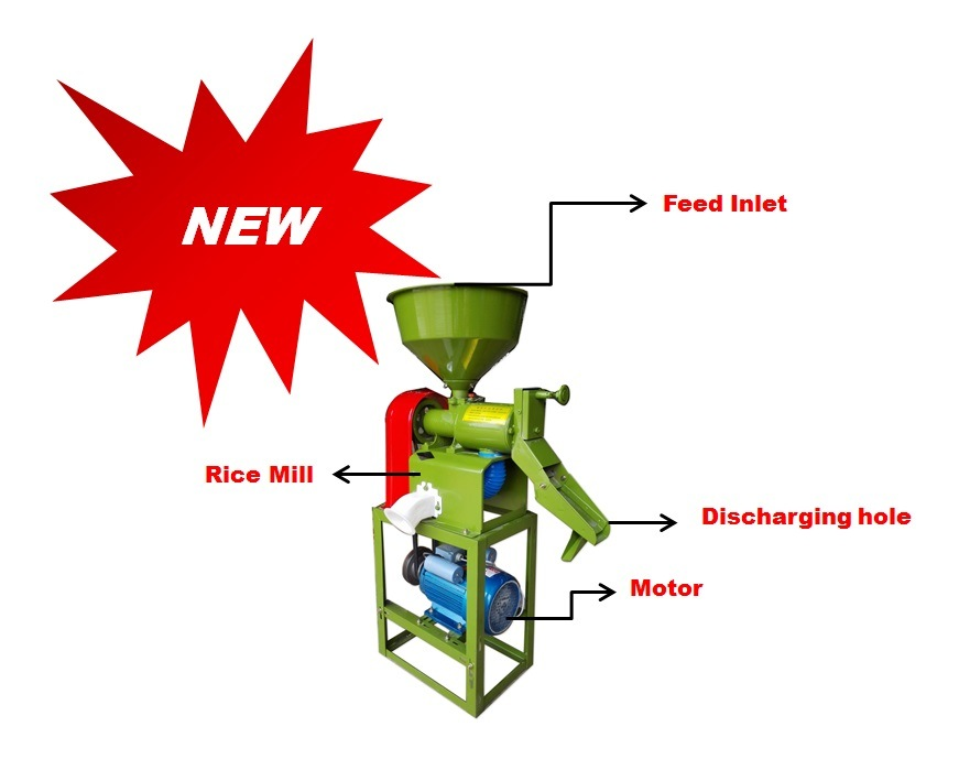[Hot Item] 86kg Small Portable Rice Mill Milling Machine Price.