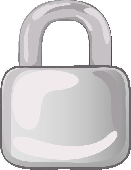 Silver Lock Clip Art at Clker.com.