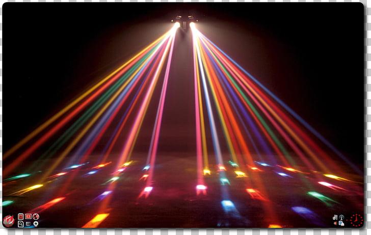 Luces variadas, discoteca ligera bola de discoteca.
