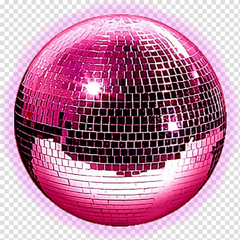 Purple mirror ball, Disco ball Light Mirror Nightclub.