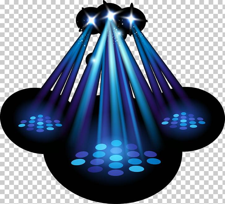 Proyector de iluminación de escenario, luces de fondo de.