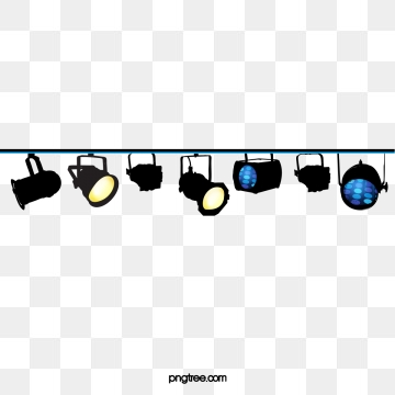 Las Luces Del Escenario Png, Vectores, PSD, e Clipart Para.