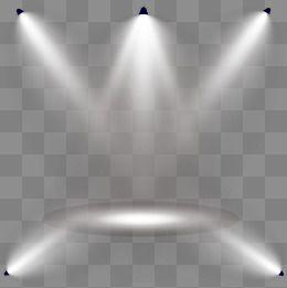 Las luces del escenario Shine efectos de iluminacion.