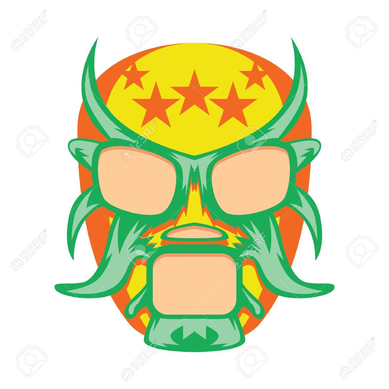 Luchador mask clipart 5 » Clipart Station.
