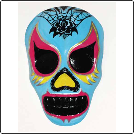 Girl Luchador Mask another pretty cool that isn't all pink.