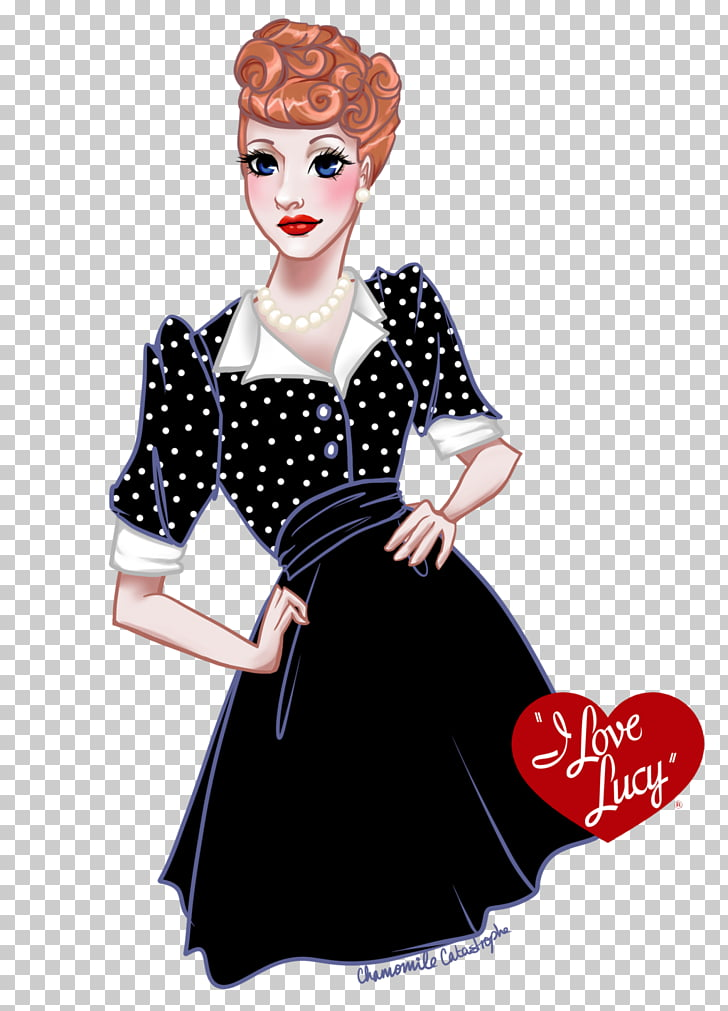 Lucille Ball I Love Lucy Hollywood Polka dot Actor, i love.