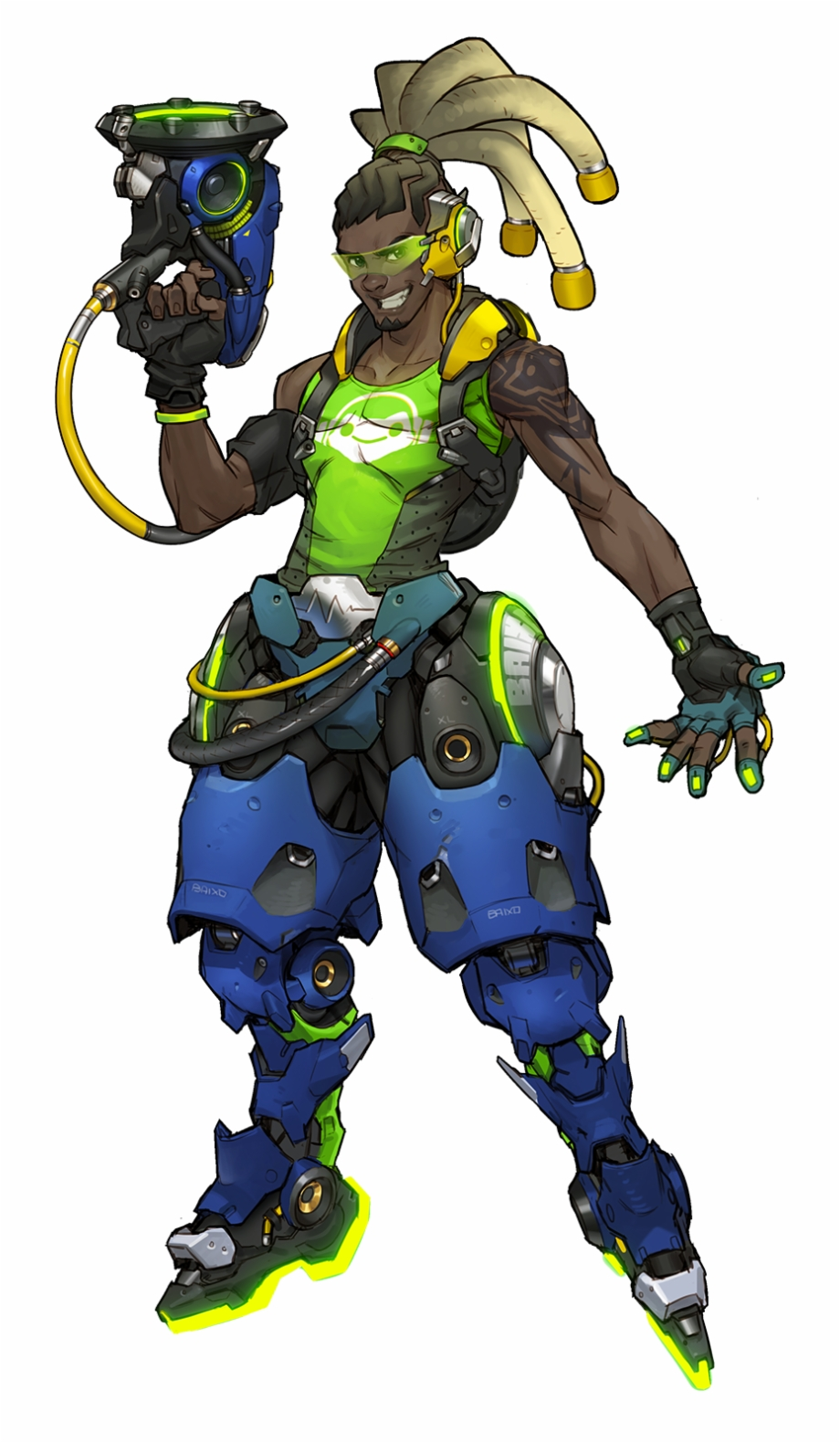 Lucio From Overwatch Free PNG Images & C #816252.