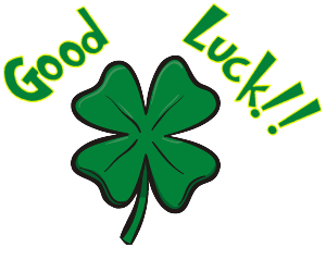 Good luck luck clipart clipartfest.