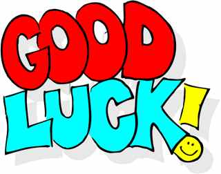 Good luck clipart images.