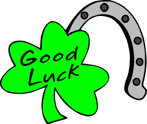 Clipart Good Luck.